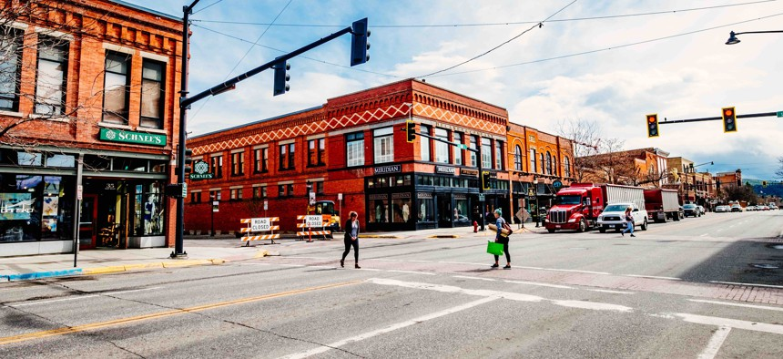 Bozeman, Montana, seen here, is one of the cities that's struggling with a lack of affordable housing.