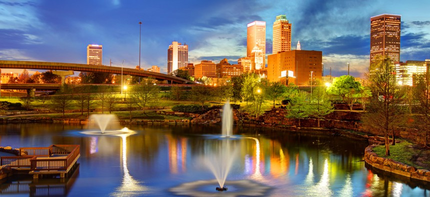 Tulsa is the second-largest city in Oklahoma.