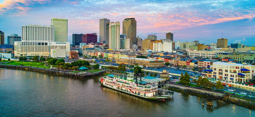 New Orleans, Louisiana, USA Downtown.