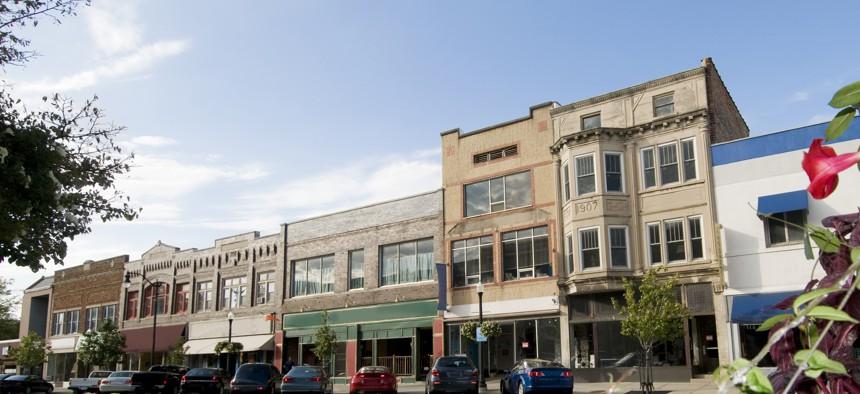 Downtown Beloit, Wisconsin