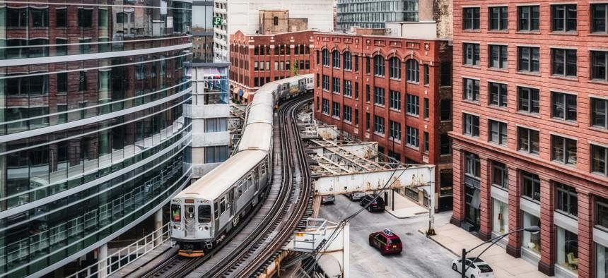 Chicago's commenter rail system