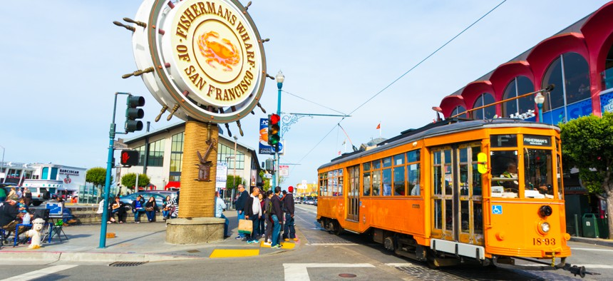 San Francisco's famous streetcars have been missing from the streets for much of the pandemic.