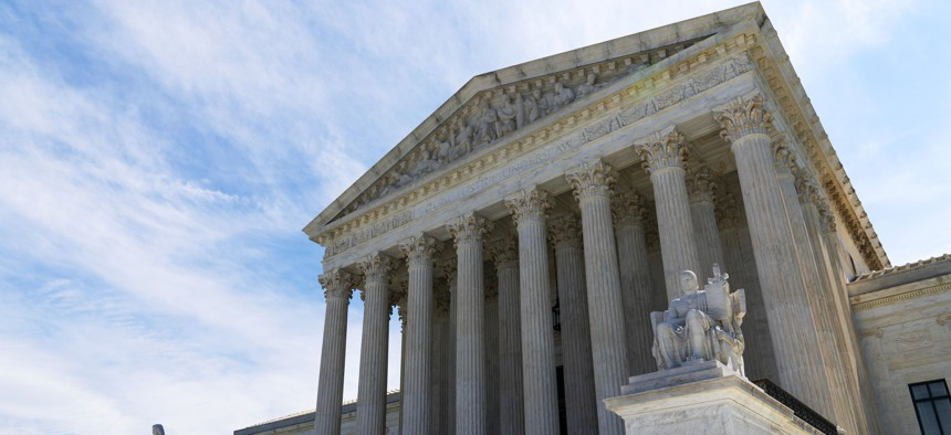 The U.S. Supreme Court is seen on Capitol Hill in Washington, Saturday, July 10, 2021.