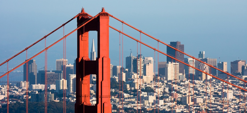 Under the proposed plan, San Francisco would be part of the new state of Silicon Valley.