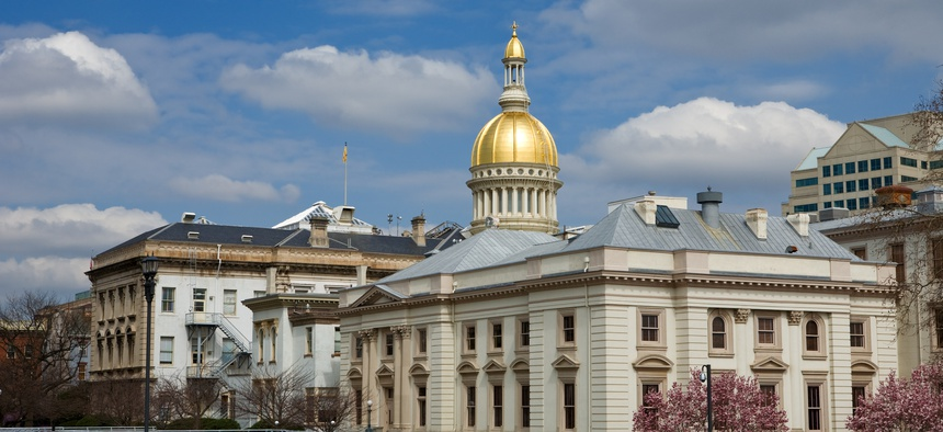 The New Jersey State Capitol in Trenton.