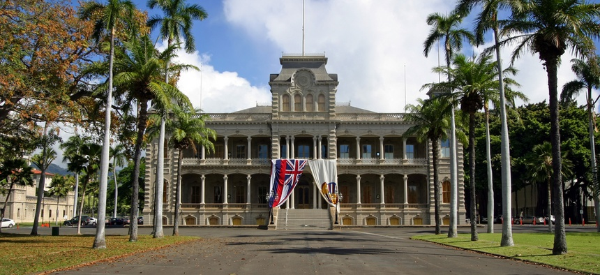 Iolani Palace in Honolulu is the only royal palace in the United States.