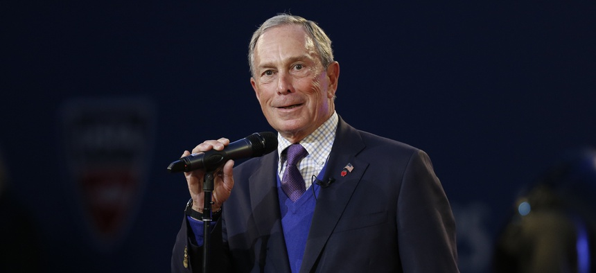 """Former New York City Mayor Michael Bloomberg is investing millions in selected cities to allow them to hire innovation teams, or """"i-teams."""""""