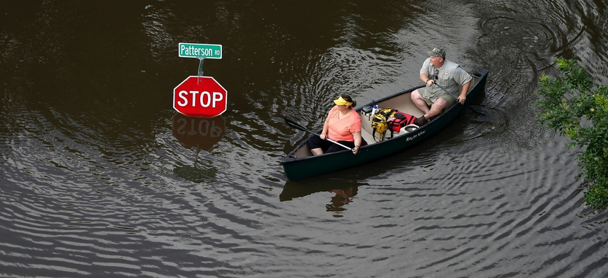 Houston was impacted my major flooding in late May.