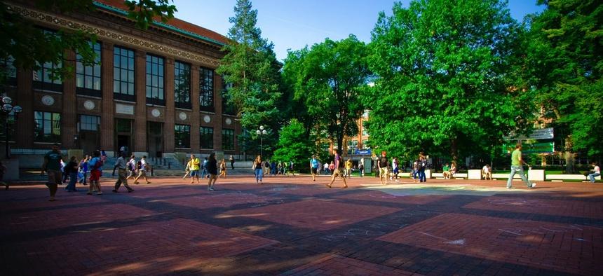 The University of Michigan in Ann Arbor