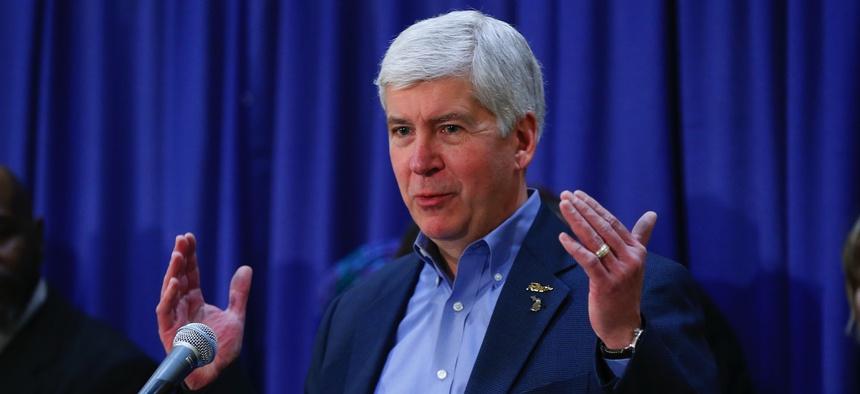 Michigan Gov. Rick Snyder
