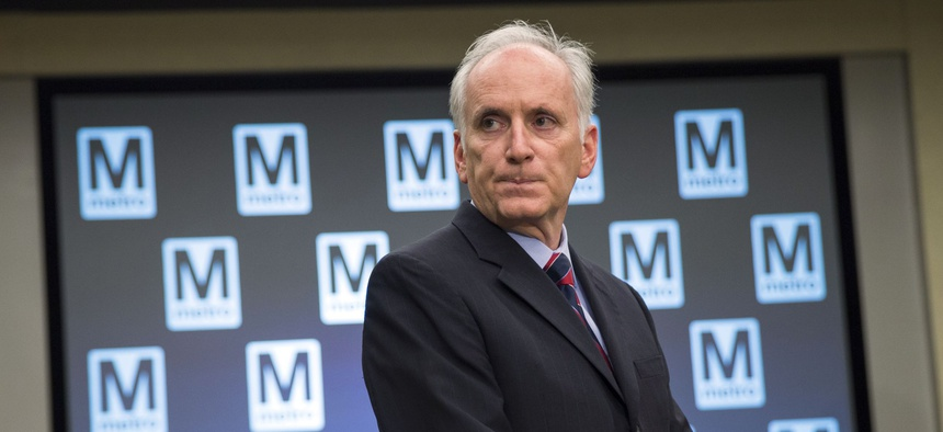 WMATA General Manager Paul Wiedefeld