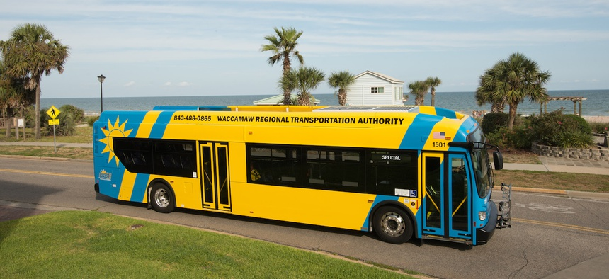 Coast RTA, in the Myrtle Beach, S.C. area, is one of more than 150 transit systems offering promos and giveaways to encourage the use of public transit.