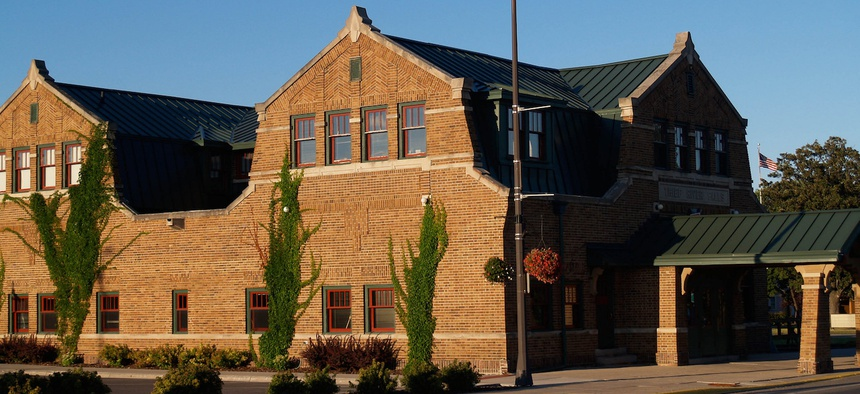 City Hall in Thief River Falls, Minnesota