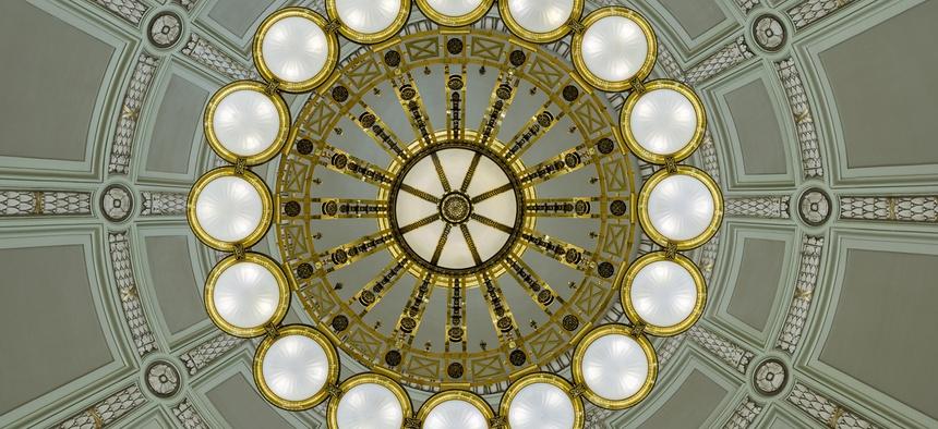 The Rotunda of the Arkansas State Capitol