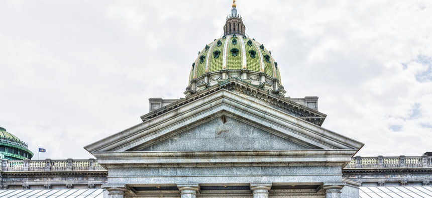 Pennsylvania is the fifth least volatile state by Pew's measure, but its reserve level of 0.1 percent would provide little budget flexibility during a downturn.