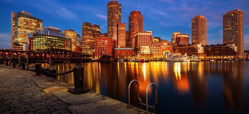 Boston Harbor, Boston