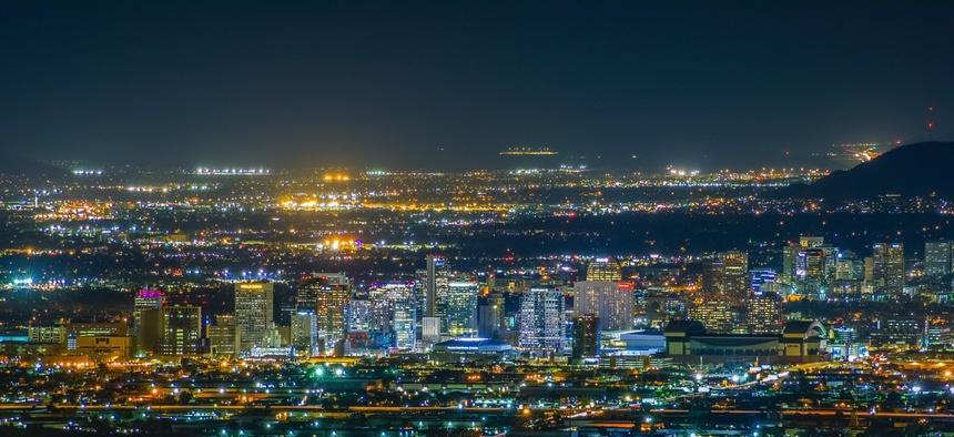 Phoenix in Maricopa County, Arizona.