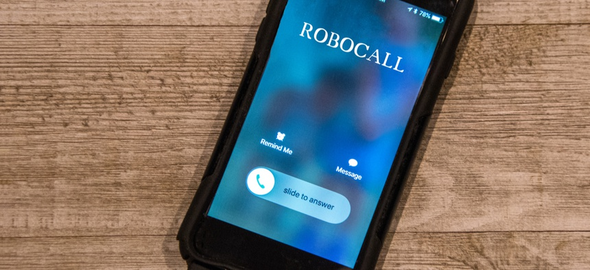 Consumers received almost 48 billion robocalls last year, up 56 percent from the year before.