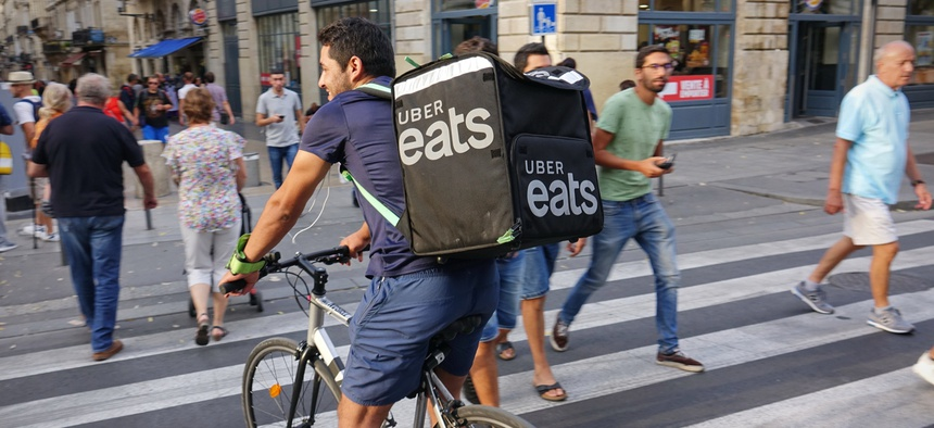 """The """"gig economy does not hold the key to the future of work,"""" despite the prevalence of Uber and Lyft in major cities, researchers said."""