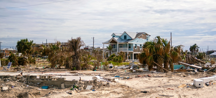 Many Florida towns were devastated by Hurricane Michael in 2019.