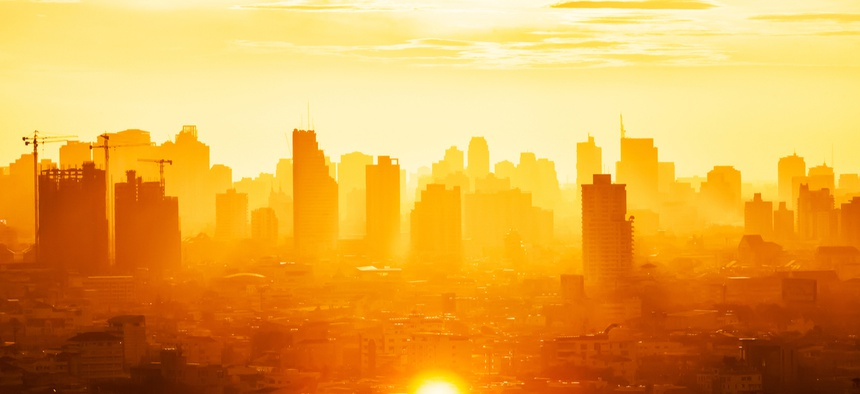 Rising temperatures are bad news for cities.