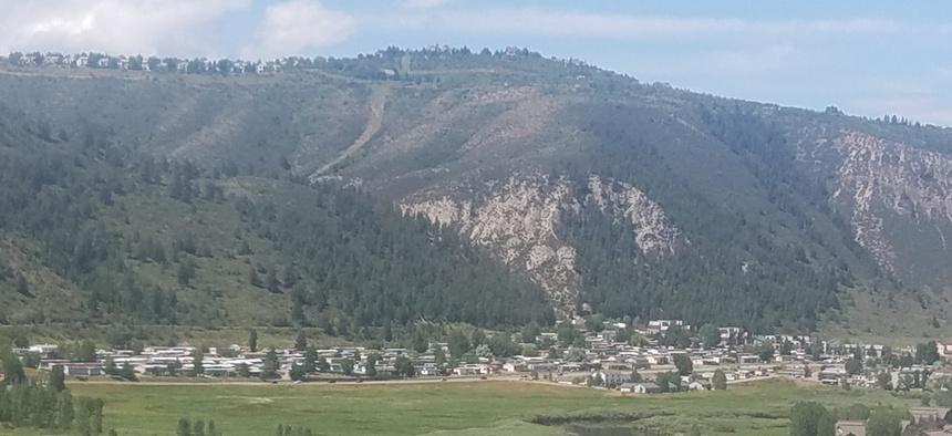 Eagle River Village in Edwards, Colorado.