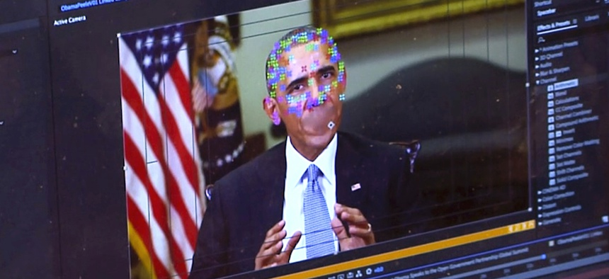 Deepfake videos use computer and AI technology to make it look like people, usually celebrities and politicians, are saying or doing things they really didn't.