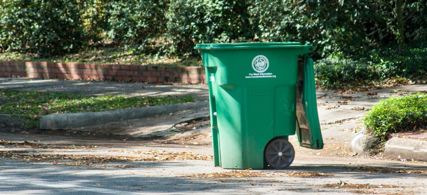 2.6 million pounds of recycling ended up in landfills in Houston recently.