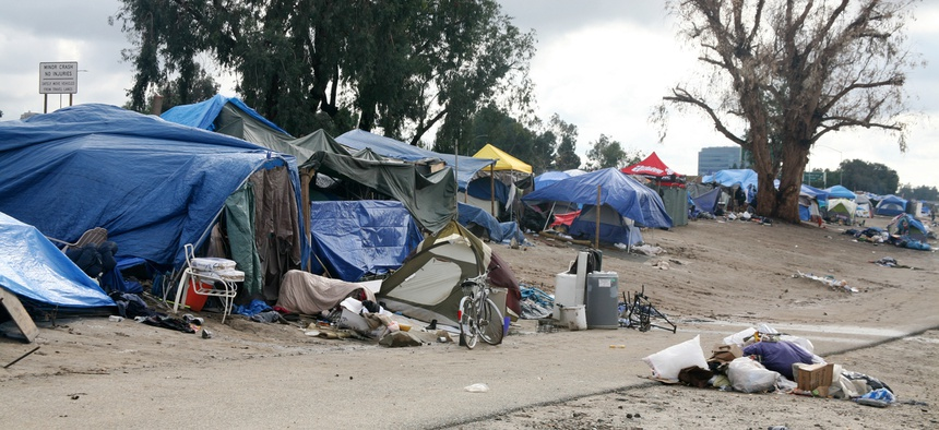 Texas Gov. Greg Abbott announced that the state convert five acres of land near Austin into a camping spot for homeless people.