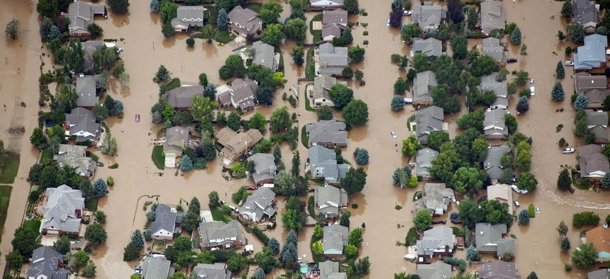 Flooding left much of Colorado underwater in 2013. Fort Collins was largely spared, in part because of their building regulations inspired by a 1997 flood.