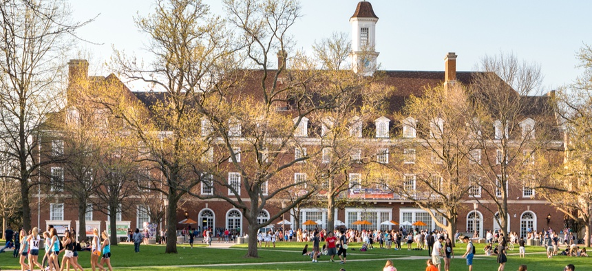 The University of Illinois at Urbana-Champaign. Illinois lawmakers created the state's first state-funded merit scholarship last year.