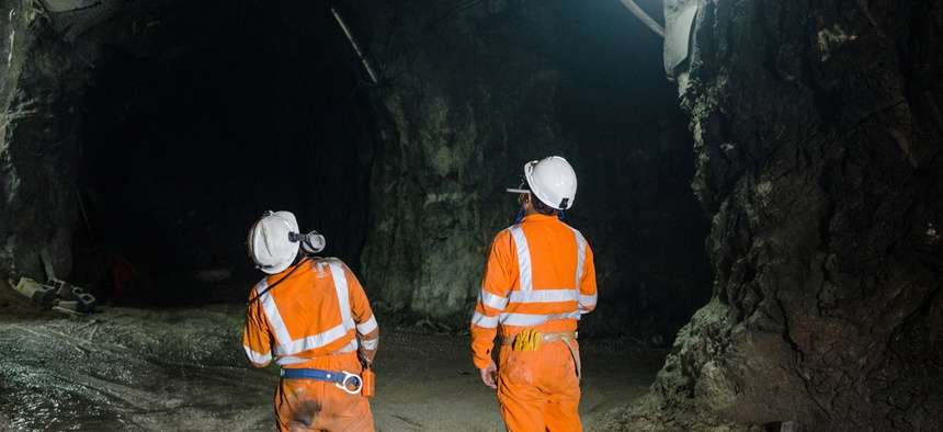 Almost half of all jobs for mining engineers lay in the suburbs.