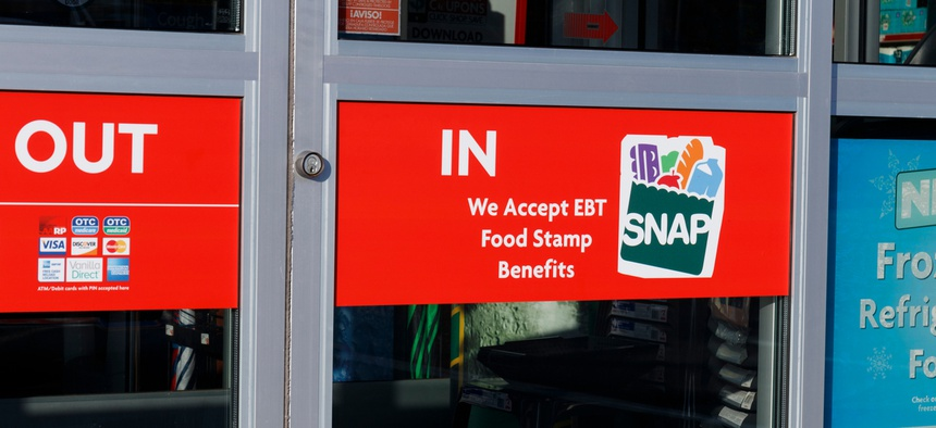 The U.S. Department of Agriculture in April began piloting an online ordering option so that people with SNAP could get groceries from participating stores delivered to their front doors.