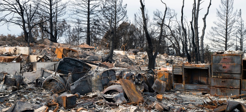 The 2018 Camp Fire left thousands of homes destroyed in California.