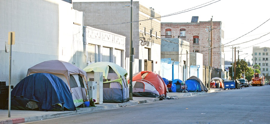 California Gov. Gavin Newsom announced that the state would make vacant state land available for emergency homeless shelters.