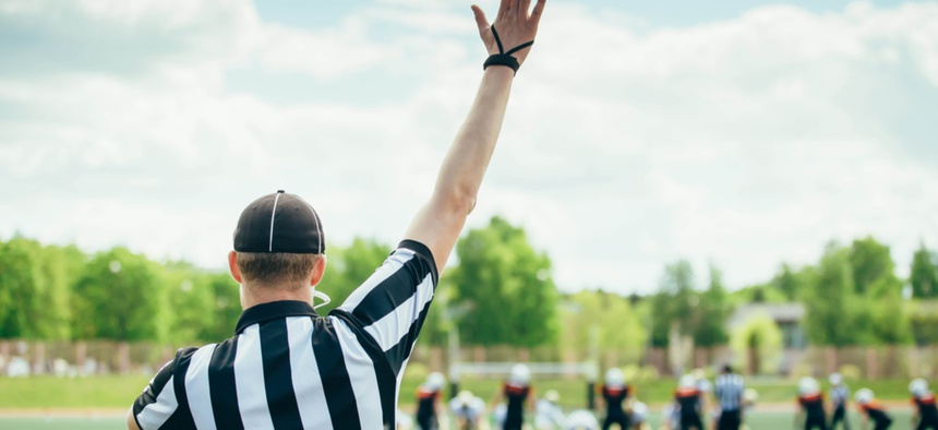 Twenty-three states have passed laws, statutes or resolutions that protect referees and other sports officials.