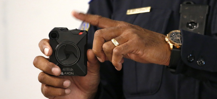 The push for police body cameras began about five years ago after several high-profile police shootings.