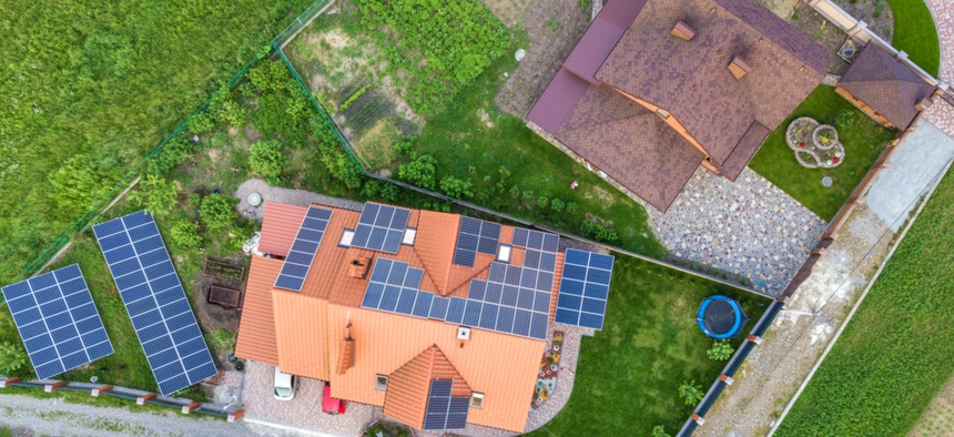 Solar-panel adoption is particularly contagious.
