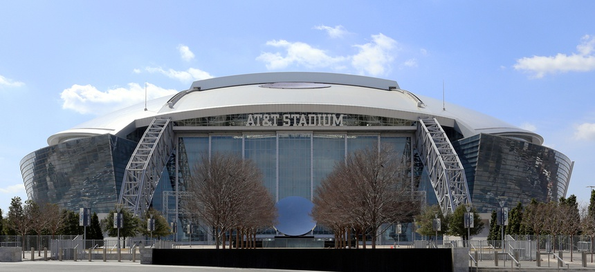 Venues like AT&T stadium will have to rely less on local financing in the future for stadium improvements.
