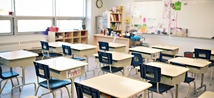 New polling found that teachers are wary of returning to the classroom.