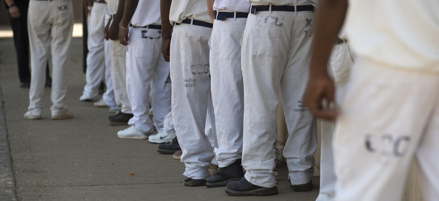 At the Elmore Correctional Facility in Elmore, Ala.