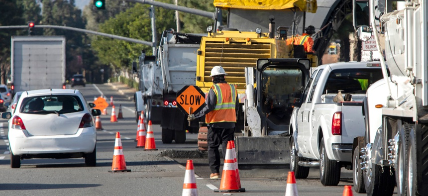 Some states are seeing an increase in work zone crashes.