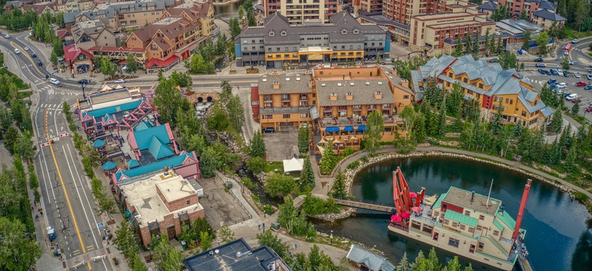 Some resorts in Denver didn't reopen to tempt tourists with summer gondola rides and alpine coasters until July.