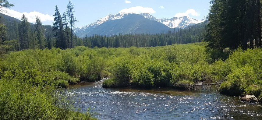 The cities of Aurora and Colorado Springs want to move forward with test drilling for a new reservoir off Homestake Creek, which potentially would reduce the nearby Holy Cross Wilderness Area.