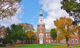 Dartmouth College in Hanover, New Hampshire.