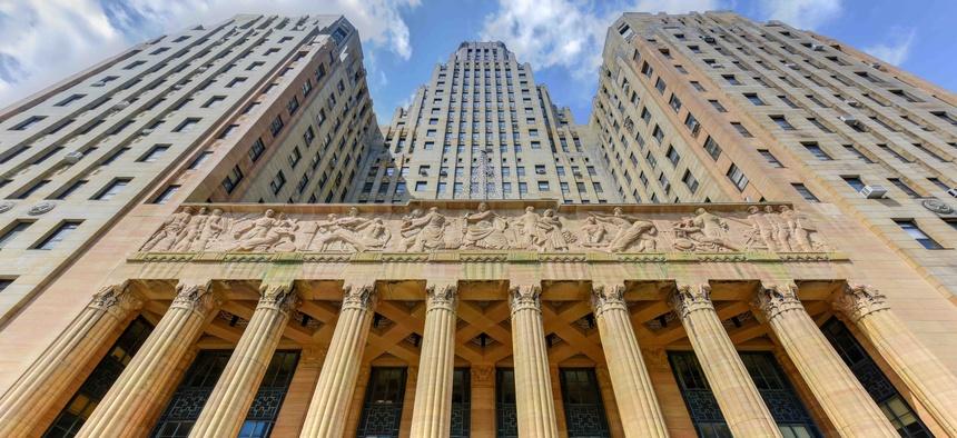 City Hall in Buffalo, New York.