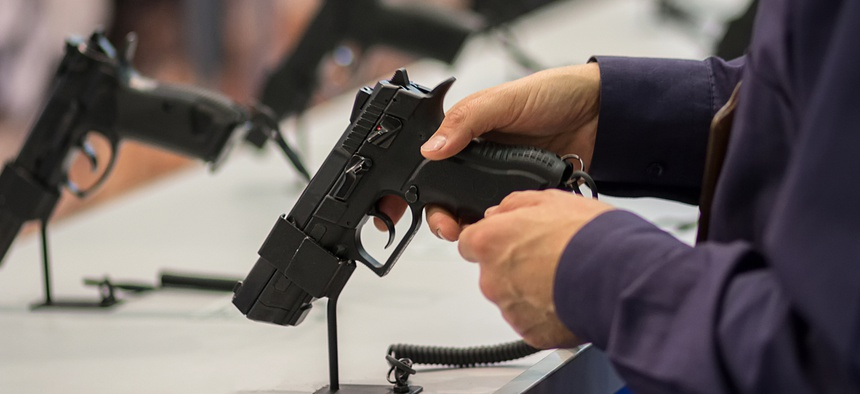 Handguns, as opposed to rifles and shotguns, are often the first firearm purchase made by someone looking for protection.