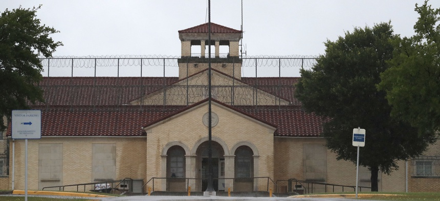 The Federal Medical Center prison in Fort Worth, Texas.