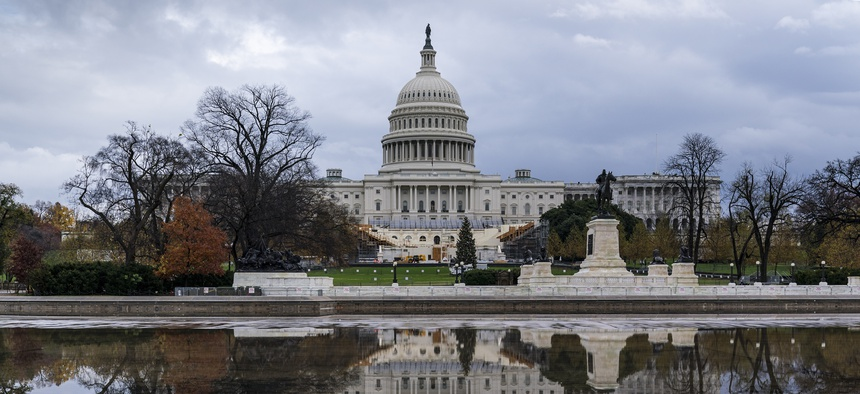 The Capitol is seen in Washington, Monday, Nov. 30, 2020