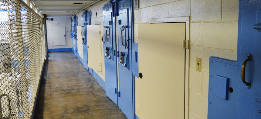 This undated file photo provided on July 11, 2019, by the South Carolina Department of Corrections shows the new death row at Broad River Correctional Institution in Columbia, S.C.